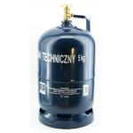 Dujų balionas 5 kg (buitiniu ventiliu)